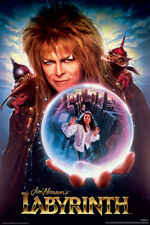 LABYRINTH - ONE SHEET MOVIE POSTER 24x36 - BOWIE 241430