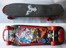 "Rare Vintage 80'S Skaterats 30"" Wooden Skateboard New Unused Nos !"