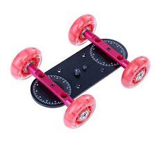 Movo CD100 Cine Skater Table Dolly Video Stabilizer for DSLR Camera - Mini