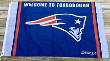 New England Patriots Large Flag Banner 3 X 5 Feet Super Bowl Champions