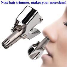 Nose Hair Trimmer Ear Portable Razor Manual Cutter Shaver Washable Scissors Good