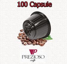 100 Cialde Capsule Caffè Prezioso no Borbone compatibili Dolce Gusto Nescafe