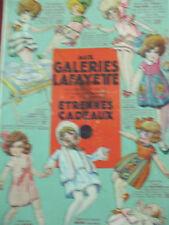 rare catalogue galeries lafayette jouets etrennes cadeaux  1929