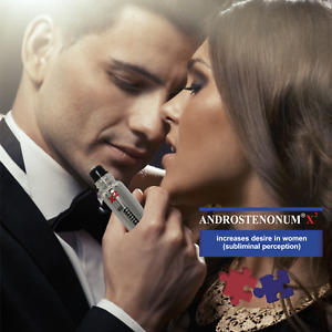 ANDROSTENONUM X2 100% Pheromone for men 8ml roll-on for him attract women sex