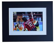 More details for rui costa signed autograph 10x8 photo display a.c. milan football aftal & coa