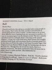 m1-3 ephemera 1984 Small Article The Pub Bull Market Deeping M Dobson