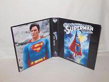 Custom Made Superman The Movie Christopher Reeve Trading Card Album Binder