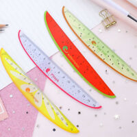 15cm Kawaii Straight Rulers Fruit Design Rulers Drafting Supplies Stationery