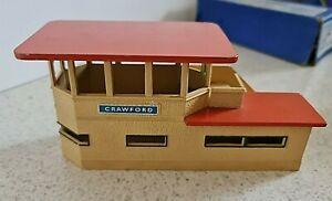 Hornby Dublo D1 Signal Cabin Station Building Boxed Vintage