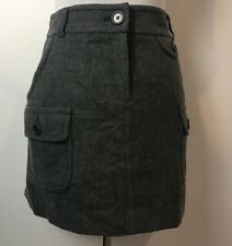 COUNTRY ROAD GREY WOOL WINTER SKIRT SIZE 10