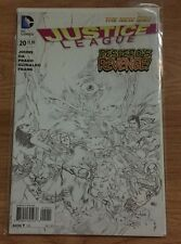 Justice League #20 B&W 1:100 Variant