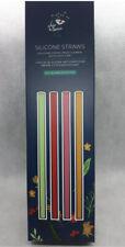 Chic & Tonic Silicone Straws 4 Straws Brush Cleaner And Plastic Case FabFitFun
