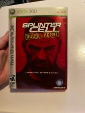 Tom Clancys Splinter Cell Double Agent Limited Collectors Edition- Xbox 360 Game