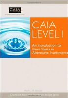 Alternative Investments CAIA Level 1 by Donald Chambers
