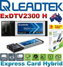 NEW Leadtek Winfast ExDTV2300 H DVB-T Express Card Hybrid HDTV/AC3 FM 34mm 480P