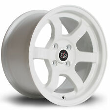 ROTA GRID ALLOY WHEEL 15 X 8 4X100 ET20 67.1MM CB WHITE