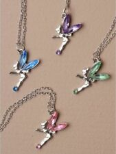 Simulated Crystal Chain Costume Necklaces & Pendants
