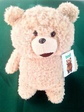 "TED - THE MOVIE 12"" TALKING PLUSH SOFT TOY BEAR - WHITEHOUSE LEISURE - TAGS!!"