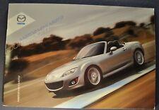 2010 Mazda MX-5 Miata 24pg Catalog Sales Brochure Excellent Original 10