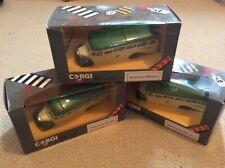 Three corgi Bedford 0B coaches  Western national ideal for code 3 work
