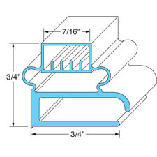 "Delfield Oem # 1702146 / 1702035, Magnetic Door Gasket - 15 13/16"" x 27 1/4"""