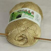 Sale Lot 1 skein x50g Soft Bamboo Cotton Baby Wrap Hand Knitting Crochet Yarn 26