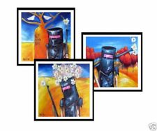 Medium (up to 36in.) Landscape Abstract Art Paintings