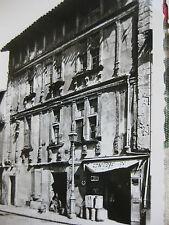 1953 12 photographies souvenirs vintage Carcassone Languedoc-Roussillon Château