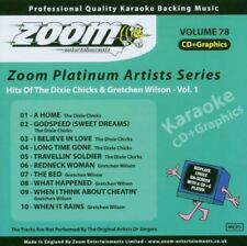 Zoom Karaoke Platinum Artists 78 CD+G - Dixie Chicks & Gretchen Wilson (Vol.1)