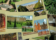 Hampton Court Palace 2018 - Royal Mail Franked PHQ Stamp Cards - 31.07.2018