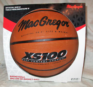 MacGregor XS100 Size 6 28.5 Inch Basketball NEW IN BOX!!