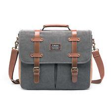 """17.3"""" Convertible Messenger Bag Backpack Laptop Shoulder Bag Briefcase Handbag"""