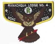 OA Lodge 4 Ranachqua Flap Yellow Border Greater NY,The Bronx Council (GNY144)