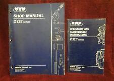 Mwm D327 Series Operation/Maintenance Manual and Shop Manual (Lot of 2)