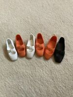 Lot Of 6 Crissy Doll Shoe Singles.  All Are Marked R.