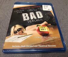 Bad Teacher (2-Disc Blu-ray/DVD, Unrated Edition) New Cameron Diaz