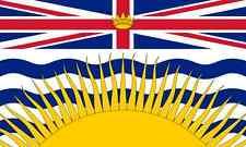 BRITISH COLUMBIA PROVINCE FLAG FRIDGE MAGNET