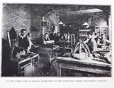 Victorian photo South West London Polytechnic Woodwork Adult education history