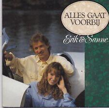 Erik&Sanne-Alles Gaat Voorbij cd single