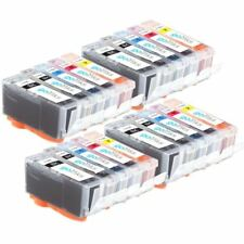 20 Ink Cartridges (Set) to replace Canon PGI-520 & CLI-521 Compatible for PIXMA