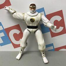 Bandai 1995 Mighty Morphin Power Rangers Twirling Action White Ninja Ranger