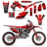 Honda CRF250 2014-2016 450R 2013-2016 Decal Graphic Kit Dirt Bike Wrap REAP RED