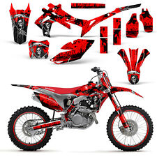 Honda CRF250 2014-2016 450R 2013-2016 Decal Graphic Kit Dirt Bike Wrap REAP RED