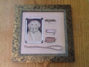 MY YELLOW LAB FRAMED K. SPICHER SIGNED NUMBERED LITHO PRINT 370/1900