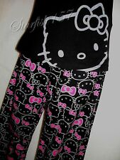=(^._.^)= Hello Kitty 2 Pc Cotton Print Sleep set!! Sz.M - NWT!!!