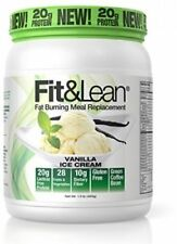MHP Fit & Lean Fat Burning Meal Replacement Protein + Probiotics - 1 lb VANILLA