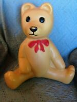 "VINTAGE CHRISTMAS UNION 18"" BEAR BLOW MOLD W/LIGHT CORD"