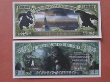 KING KONG: 8th Wonder of the World ~*~ Scarry $1,000,000 One Million Dollar Bill