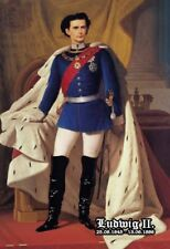 Ludwig II König von Bayern Gemälde 2 Blechschild Schild Tin Sign 20 x 30 cm