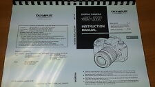 OLYMPUS E-30 DIGITAL CAMERA PRINTED INSTRUCTION MANUAL USER GUIDE 163 PAGES